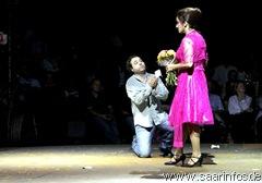 Don Jose beschwört Carmen, zu ihm zurück zu kehren5707b