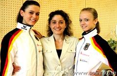 Mit Trainerin Gallina Gallert (M.)9461