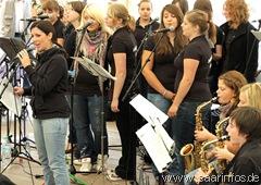 Die Big Band des GaS unterhielt musikalisch 6568w
