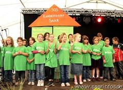 Kinder und Mitarbeiter gaben einen Einblick in die Arbeit des Kinderdorfes 6605w