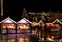 Weihnachtsmarkt in Saarlouis 2009