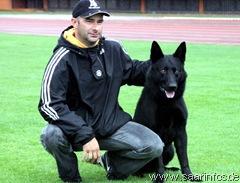 Markus keidel siegte mit seinem Hund Knock vom Smaragdwald 5125w